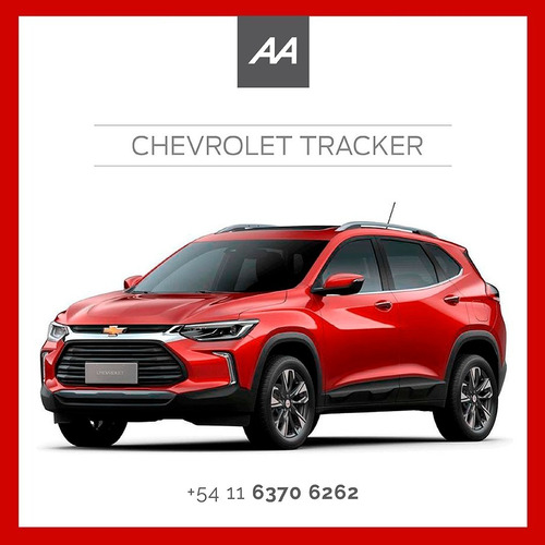 Imagen 1 de 2 de Chevrolet Tracker 1.2 At. Adjudicada 100% 46c. Retire Ahora!