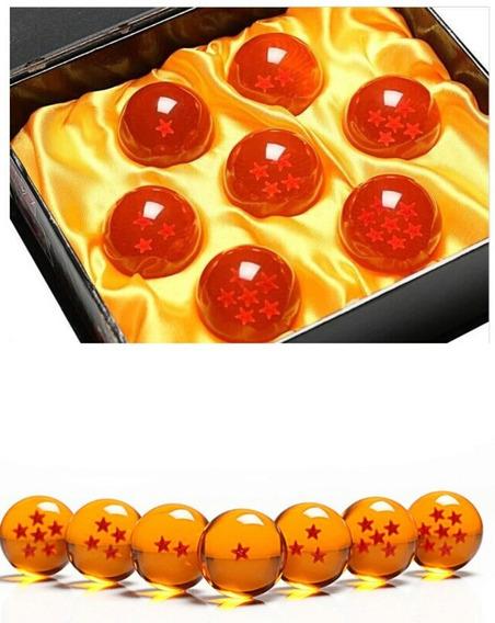 7 Esferas Do Dragao Dragon Ball Z Com Caixa Especial Coleção