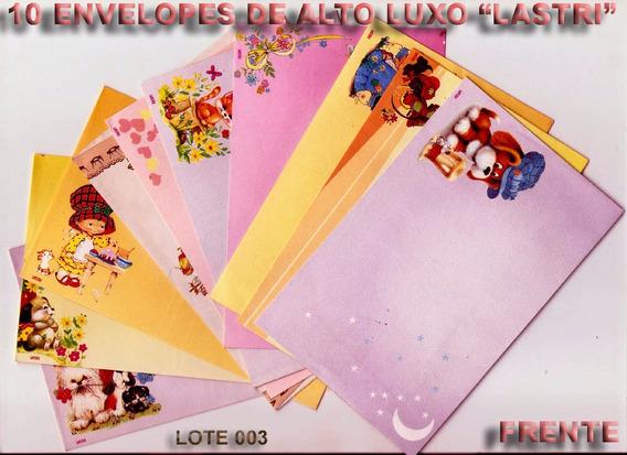 Envelopes Luxuosos Da Lastri & Outros, Raridade Lote 003