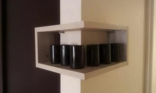 Esquinero Mueble Decoración Repisa Tequilero Cocina