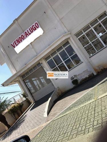 Barracão Comercial Para Venda E Locação, Jardim Ana Maria, Sorocaba. - Ba0039