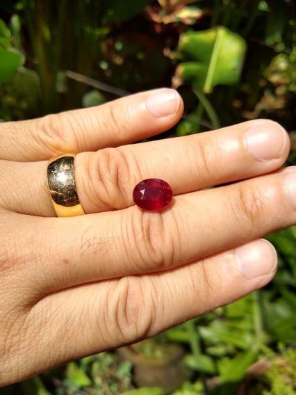 Rubi Natural Sangue De Pombo 10,7x8,8 Frete Grátis 5,3 Cts