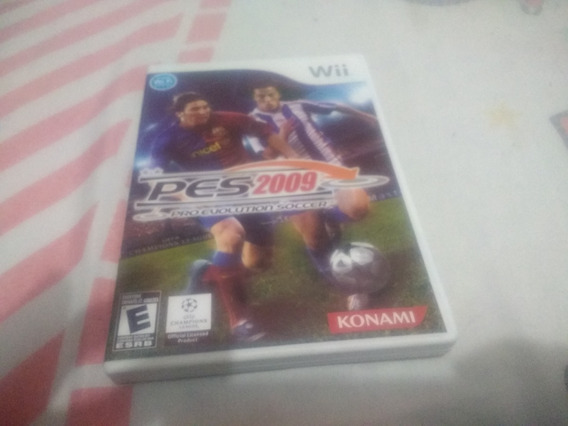 Pes 2009 Nintendo Wii Original Mídia Física Envio Imediato