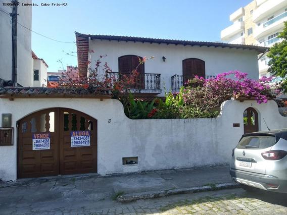 Casa Para Locação Em Cabo Frio, Passagem, 6 Dormitórios, 5 Suítes, 5 Banheiros, 4 Vagas - Afc 039_2-1053021