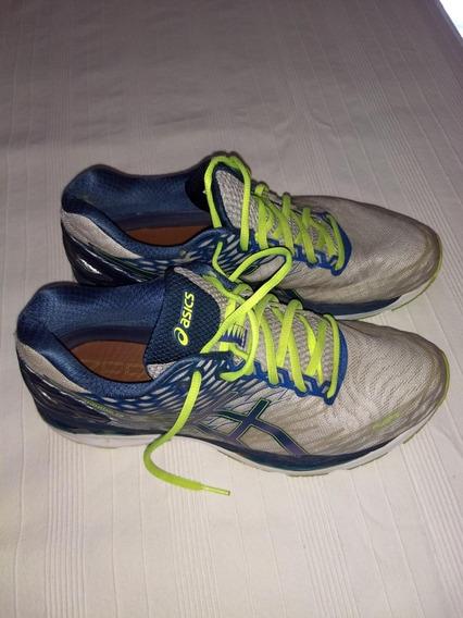 Zapatillas Asics N 45 Excelentes!!!gel Nimbus 18- 28,5 Cm
