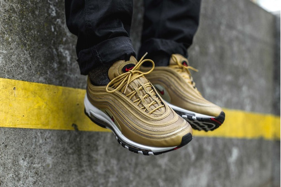 Zapatillas Nike Air Max 97 Og Metallic Gold Qs - Men