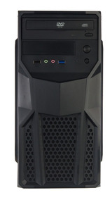 Cpu Nova Intel Core I3 4gb Ddr3 Hd 500gb + Office Windows 10