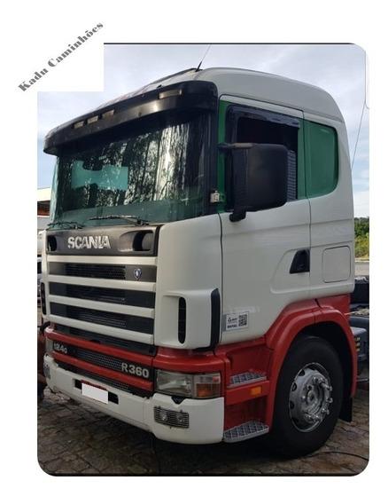 Scania R124 360 6x2 Trucada 2005 - Excelente - Sem Trocas
