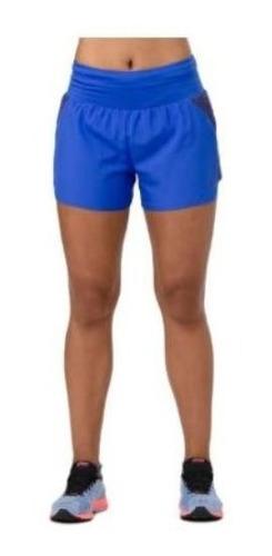 Imagen 1 de 4 de Short Asics 3.5in Short Azul Mujer A274 C401
