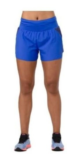 Short Asics 3.5in Short Azul Mujer A274 C401