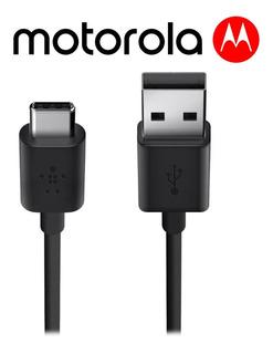 Cable Tipo C Motorola 100% Original