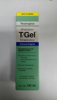 T/gel Shampoo Para Psoriasis, Dermatitis Seboreica Y Caspa