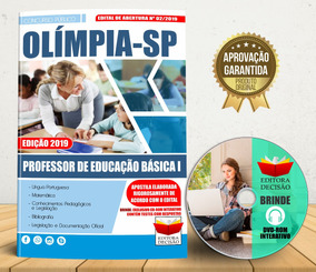 Apostila Professor De Educação Básica I - Olímpia-sp 2019