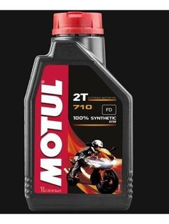 Aceite Motul Para Motocicleta 2t 710 100% Sintético 1l