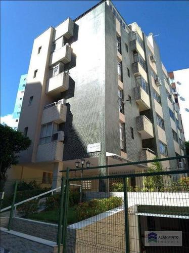 Apartamento À Venda, 85 M² Por R$ 395.000,00 - Itaigara - Salvador/ba - Ap0496