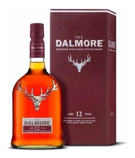 Whisky The Dalmore 12 Años Single Malt Origen Escocia.