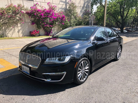 Lincoln Mkz 2017 Select 2.0t Piel Qc Gps Excelente Estado!