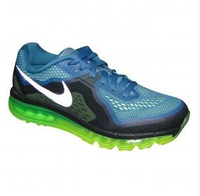Tênis Nike Air Max 2014 Petrólio/limão Schuh Haus 5655