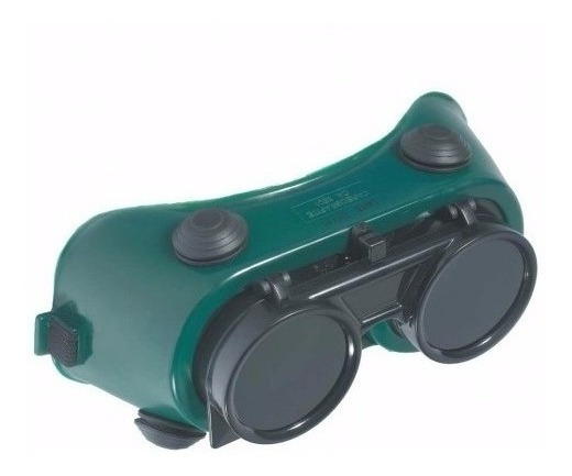 Óculos De Seg. P/ Solda Visor Articulado Cg 250 Carbografite