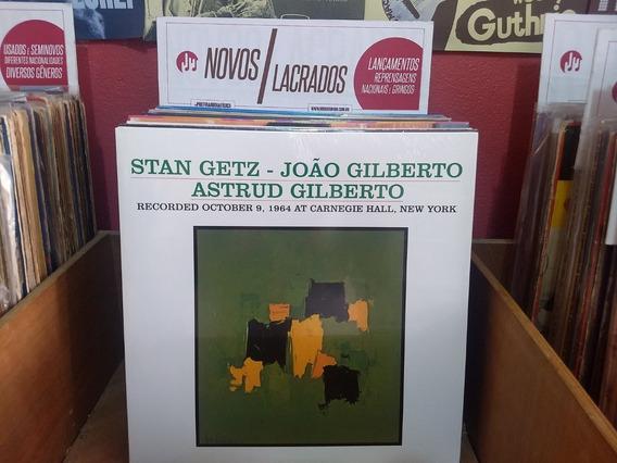 Lp/vinil - Getz Gilberto Vol. 2 - 180g - Novo E Lacrado