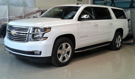 Chevrolet Suburban Premier 4x4 Blindada Yasser Armor 3 2020