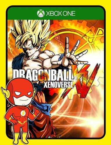 Imagem 1 de 5 de Dragon Ball Xenoverse Xbox One - 25 Dígitos (envio Flash)