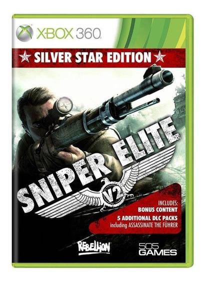 Sniper Elite V2 Silver Star Edition Xbox 360 Mídia Física