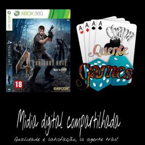 Resident Evil 4 Digital Compartilhado + Brinde Xbox 360