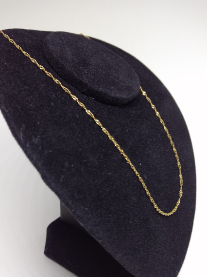 Corrente Masculina Folheada Ouro 18k Dourada Marido C1003