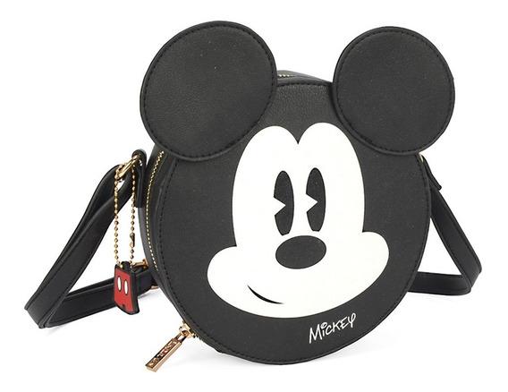Bolsa Feminina Transversal Mickey Mouse - Original Disney