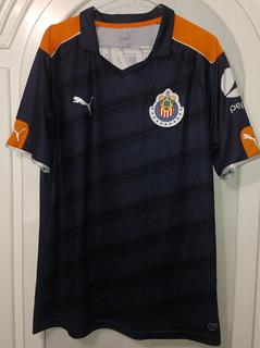 Jersey Chivas Guadalajara Tercer Uniforme Año 2016 Talla Xl