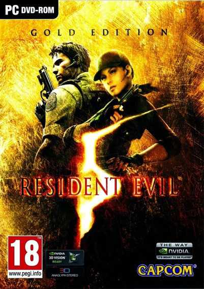 Resident Evil 5 Gold Edition Pc - 100% Original (steam Key)