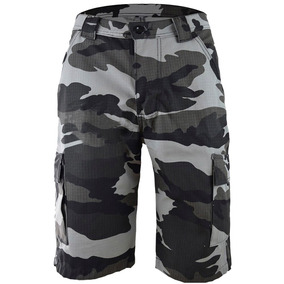 Bermuda Militar Camuflada Masculina Tática 6 Bolsos Big Nº56