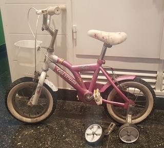 Liquido Bicicleta Aurorita Rodado 12 Modelo Princesas (nena)
