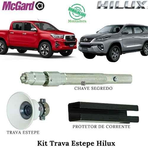 Trava Segurança Para Estepe Toyota Hilux Sw4 2016 2017 2018