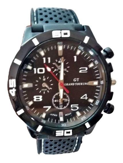 Relógio Masculino Esportivo Militar Correia De Silicone