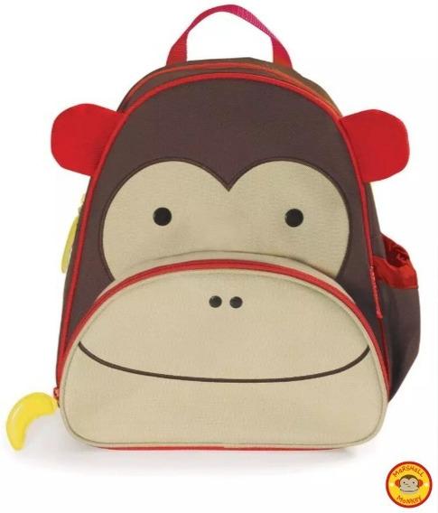 Mochila Skip Hop Zoo - Original - Macaco