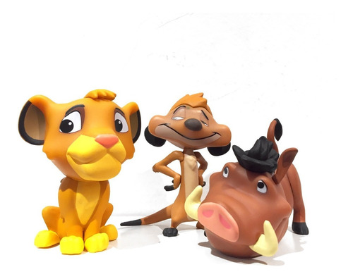 Disney El Rey León  Funko Mystery Minis Simba Pumba Timon