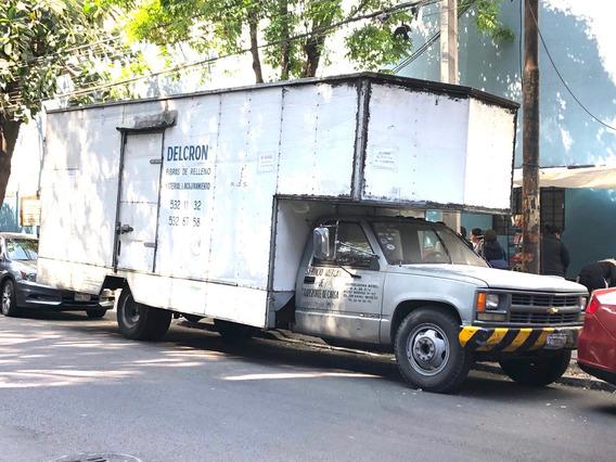 Camion Chevrolet Caja Mudancera Listo Para Trabajar