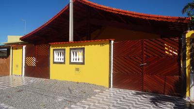 Casa Nova Em Mongaguá Belíssimo Acabamento!!ref.5782