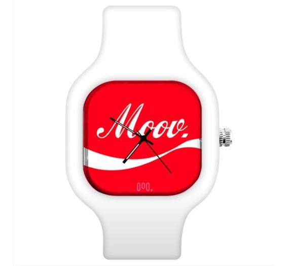 Relógio De Pulso Esportivo Troca A Pulseira Moov Watches