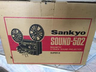 Proyector Sankyo Sound 502 Perfecto Estado Funcionando!