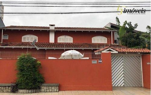 Imagem 1 de 14 de Casa Com Piscina, 6 Dormitórios (sendo 2 Suítes), À Venda, 280 M² No Bairro Dom Bosco - Itajaí/sc - Ca0387