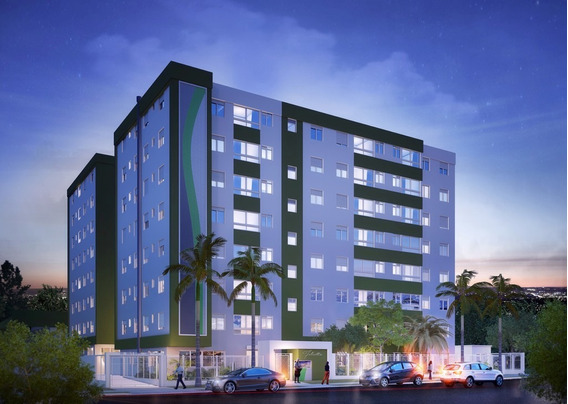 Apartamento Em Alto Petrópolis Com 3 Dormitórios - Rg3748