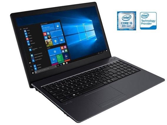 Notebook Vaio Fit 15s I5 8250u 8gb 1tb 15,6 Led W10h