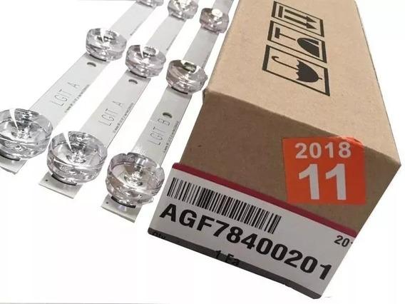 Kit Barras Led Lg 32lf565b 32lf5800 32lf585b 100% Original