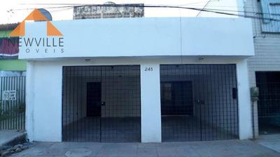 Casa Com 3 Dormitórios Para Alugar, 300 M² Por R$ 1.800/mês - Ipsep - Recife/pe - Ca0179