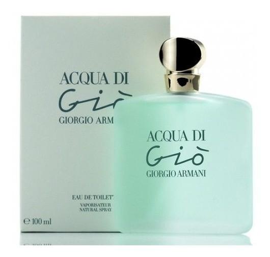 Perfume Acqua Di Gio Giorgio Armani Feminino 100ml Fte Gtis