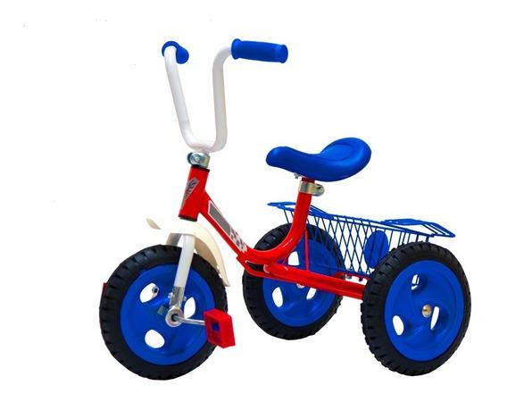 Triciclo Infantil A Pedal Con Ruedas Macizas! El Mejor (575)
