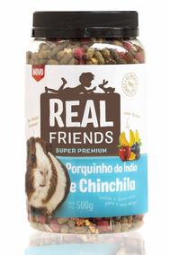 Real Friends - Porquinho Da India E Chinchila Com Frutas